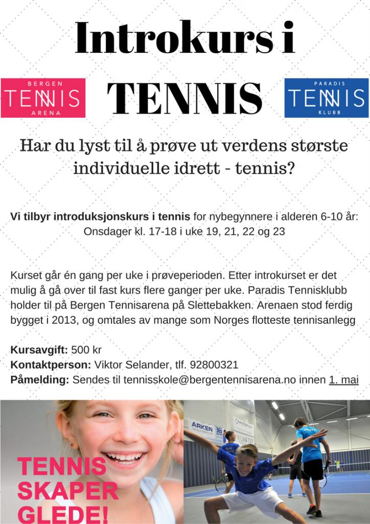 Introkurs i TENNIS V17 2