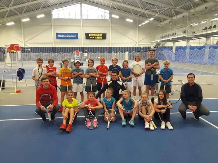 Høstcamp for juniorer @ Bergen Tennisarena