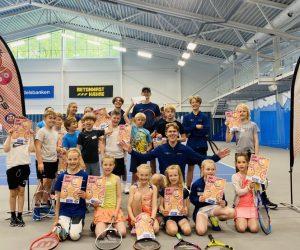 Gruppebilde av Tenniskids Tour